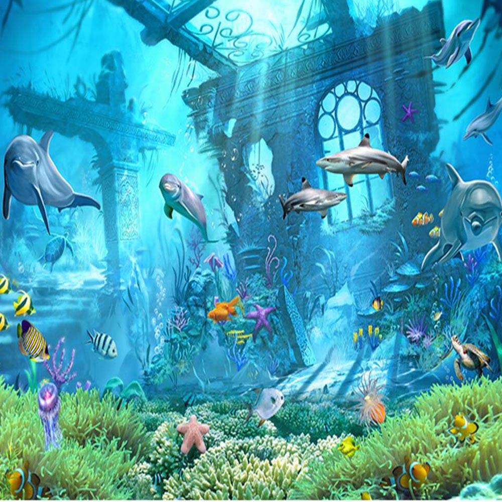 Wallpaper 3d Ikan