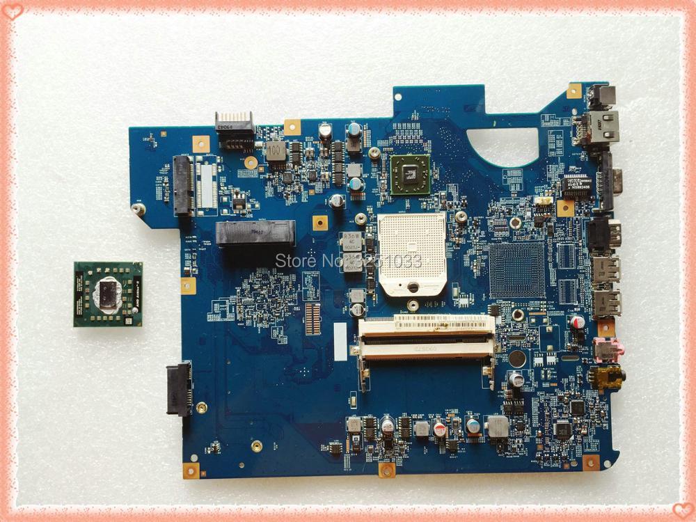 for GETEWAY NV53 Notebook 48.4FM01.011 Laptop motherboard MBWGH01001 JV50-TR DDR2 integrated STOCKET S1 full test