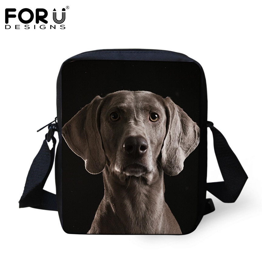 FORUDESIGNS/женская маленькая сумка через плечо с объемным рисунком собаки чихуахуа, модные женские сумки-мессенджеры, сумки через плечо - Цвет: H205E