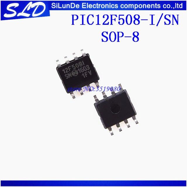 شحن مجاني 50 قطعة/الوحدة PIC12F508 I/SN PIC12F508 12F508 12F508I SOP8 جديدة ومبتكرة في المخزون