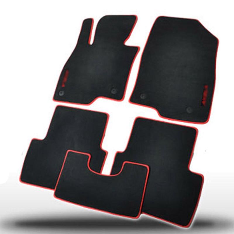 Tapis de revêtement de tapis de sol Auto inodore en Nylon solide de première qualité équipé pour Mazda Axela 2014-2019