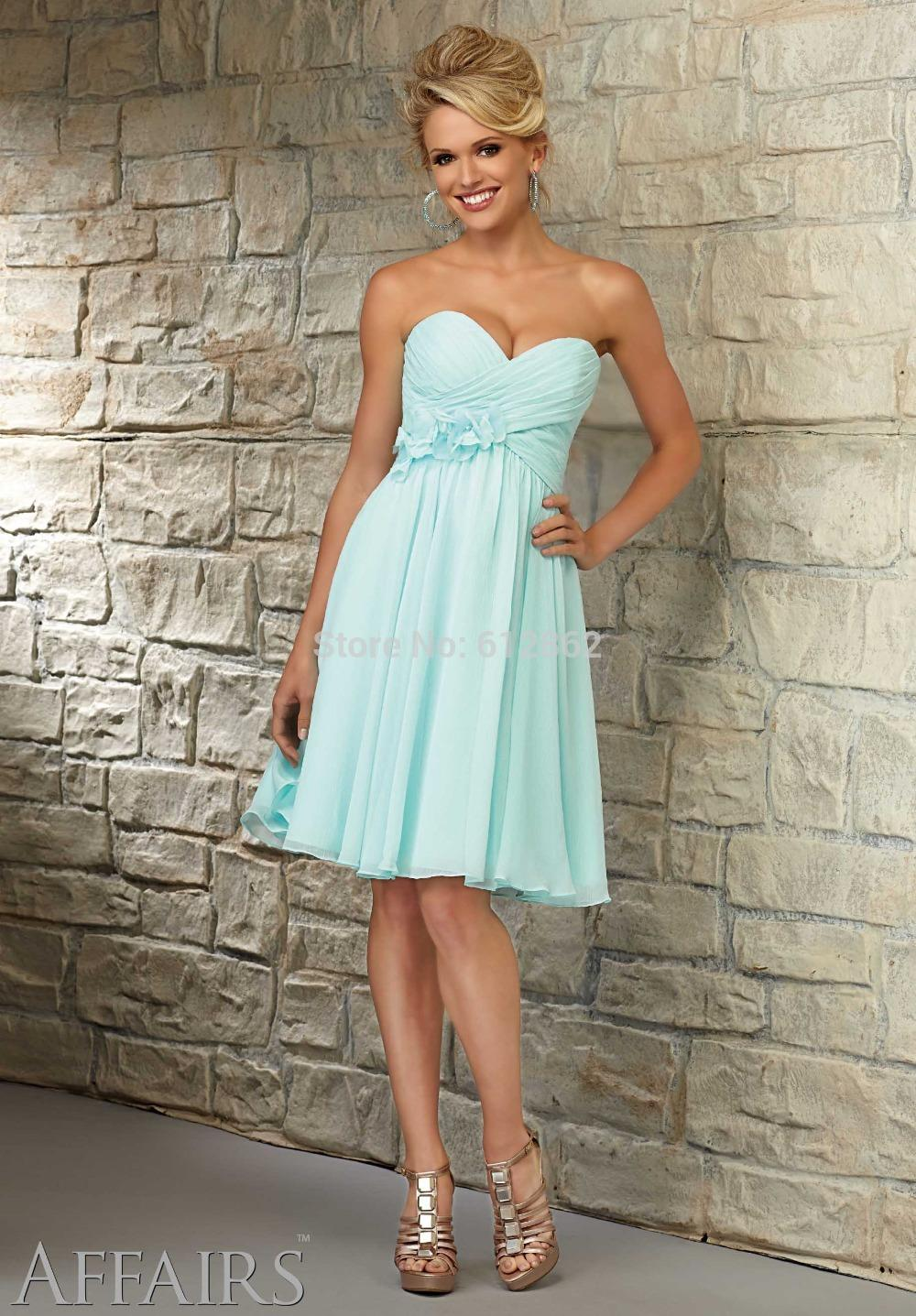 Popular Light Blue Strapless Prom Dress-Buy Cheap Light Blue ...