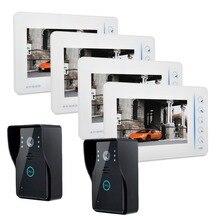 7 inch TFT LCD Monitor Video font b Door b font phone Intercom HD font b