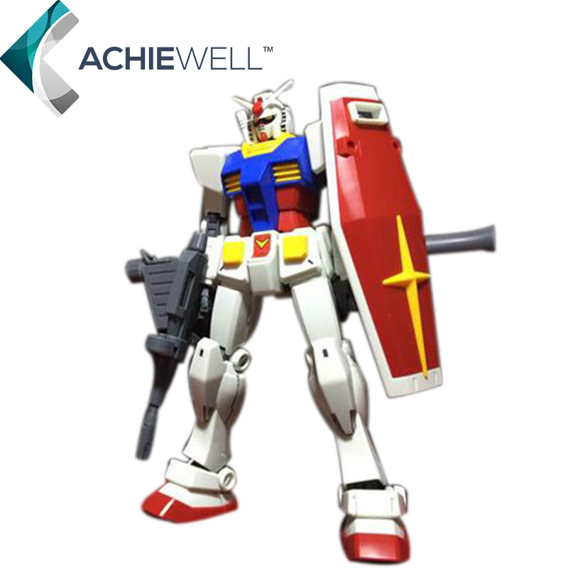 ФОТО BANDAI RX-78 Original Gundam Action Figure HG 1/144 Model 12 CM Japan Anime Robot Puzzle Assembly Toys For Boys Gifts