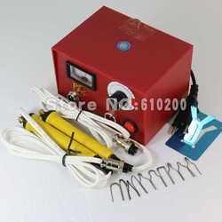 Electrocautery ручка машина пирографии ручка для выжигания 50 Вт 220 В в 2/шт ручка 10/шт паяльной Для тыквы, планка, кожа, кора