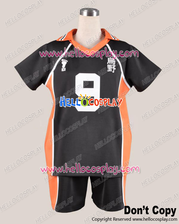65% cotton+35% polyester H008 Haikyu Cosplay Juvenile  Uniform Costume The 9th Ver