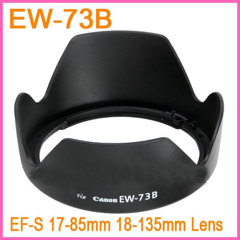 Wholesale 1PCS EW 73B EW73B EW 73B Bayonet shape flower Lens Hood For Canon EOS EF