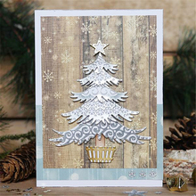 2018 new Christmas Trees Dies Metal Cutting dies scrapbooking New Arrival Craft Background For Card Making