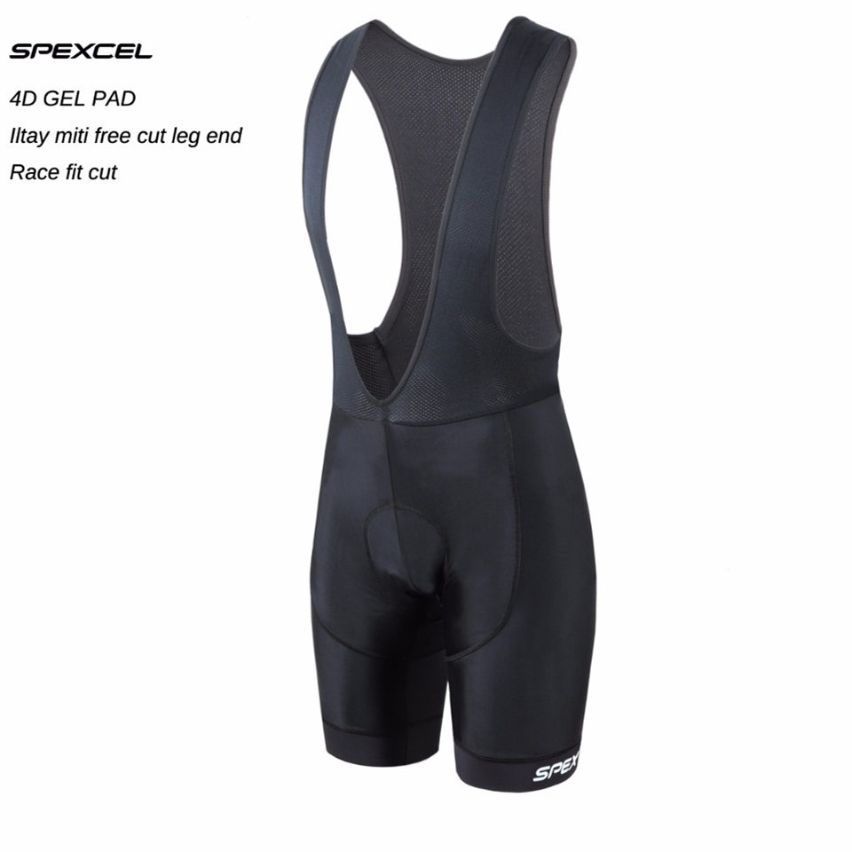MUCUBAL Mens Cycling Bib Shorts with 3D Breathable Pad Bike Bibs Padded Bike Half Pants Tights shorts