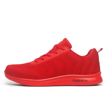 New arrivals Men Running shoes breathable outdoor walking shoes male sport sneakers light jogging athletic shoes Blue/Black/Red