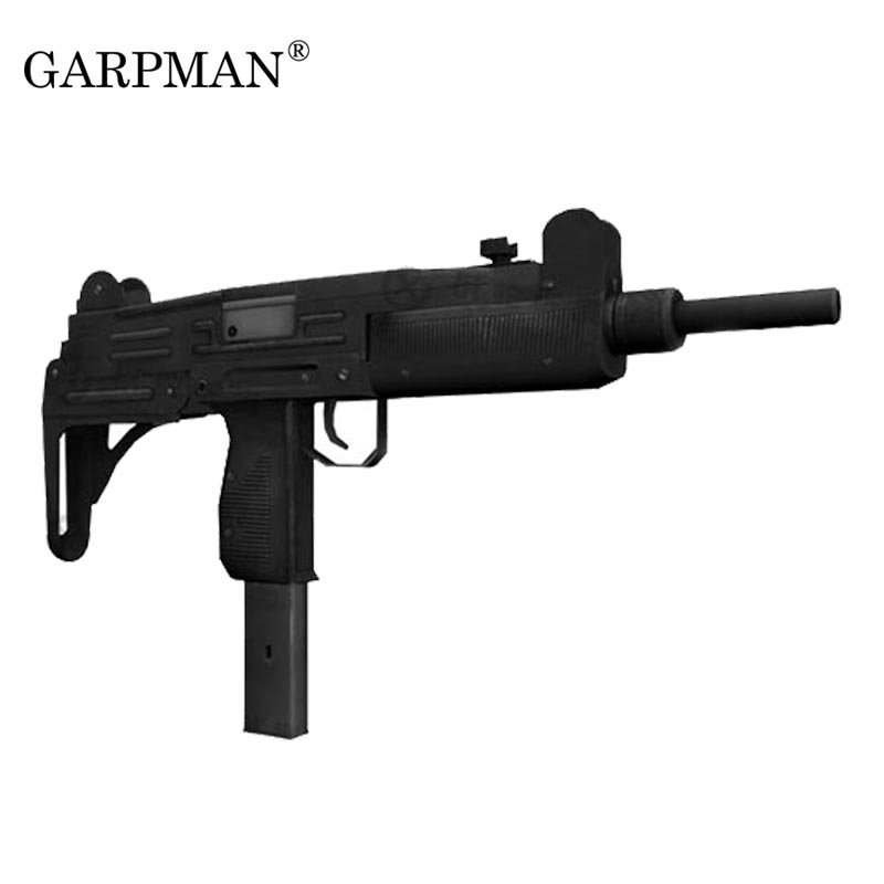 1:1 UZI Submachine Gun Paper Model Firearms Handmade Toy
