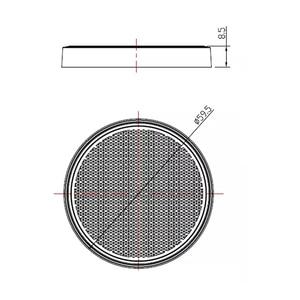 Image 3 - AOHEWE アンバーラウンド反射自己粘着 E CE の承認トレーラートラックローリーバス RV ポジションライト