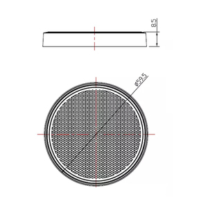 Image 3 - AOHEWE   amber round reflector self adhesive E CE Approval for trailer truck lorry bus RV position light