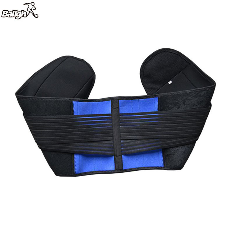 Balight Women Men Adjustable Neoprene Lumbar Support Pain Relief Lower Back Belt Brace Slim Corset Underwear Body Shaper