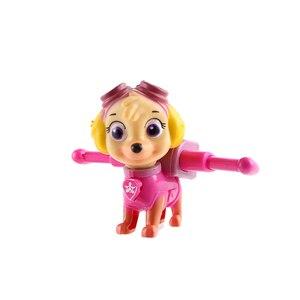 Image 2 - 6 יח\סט Paw סיירת Patrulla Canina אנימה איור פעולה דמויות גור סיירת רכב צעצוע Patroling כלבי צעצועים לילדים