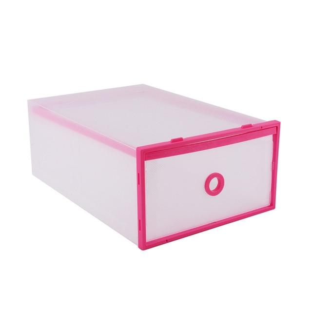 Double Storage Box Sundries Organizer Case Pink Purple Plastic Shoes Storage Shoe Box Drawers 4 Colors  sc 1 st  AliExpress.com & Double Storage Box Sundries Organizer Case Pink Purple Plastic Shoes ...