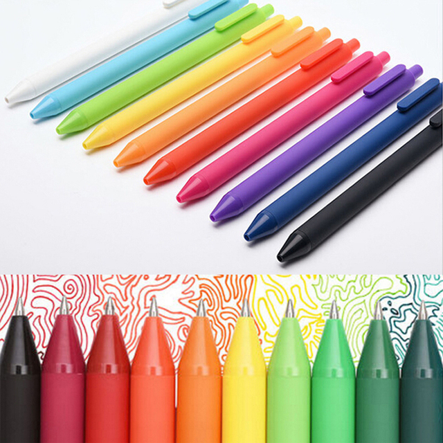 Fashion 20pcs Colored Gel Pens For Coloring School Children Kids ...