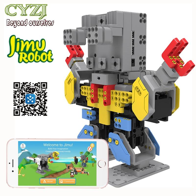 UBTECH JIMU Smart Robot Live Building Block Robotics Kit digital building blocks smartphone & tablet Control for IOS android