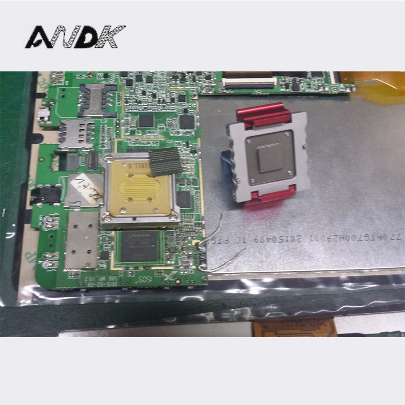 Customized IC test socket LPDDR3 BGA178 Adapter IC Test Socket Analysis Socket double lock clamshell Structure Test socket ic xeltek programmers imported private cx3025 test writers convert adapter