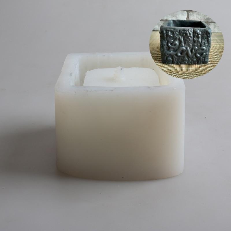 Silikonski kalupi za betonske posude za cementne kalupe za vaze - Umjetnost, obrt i šivanje - Foto 3