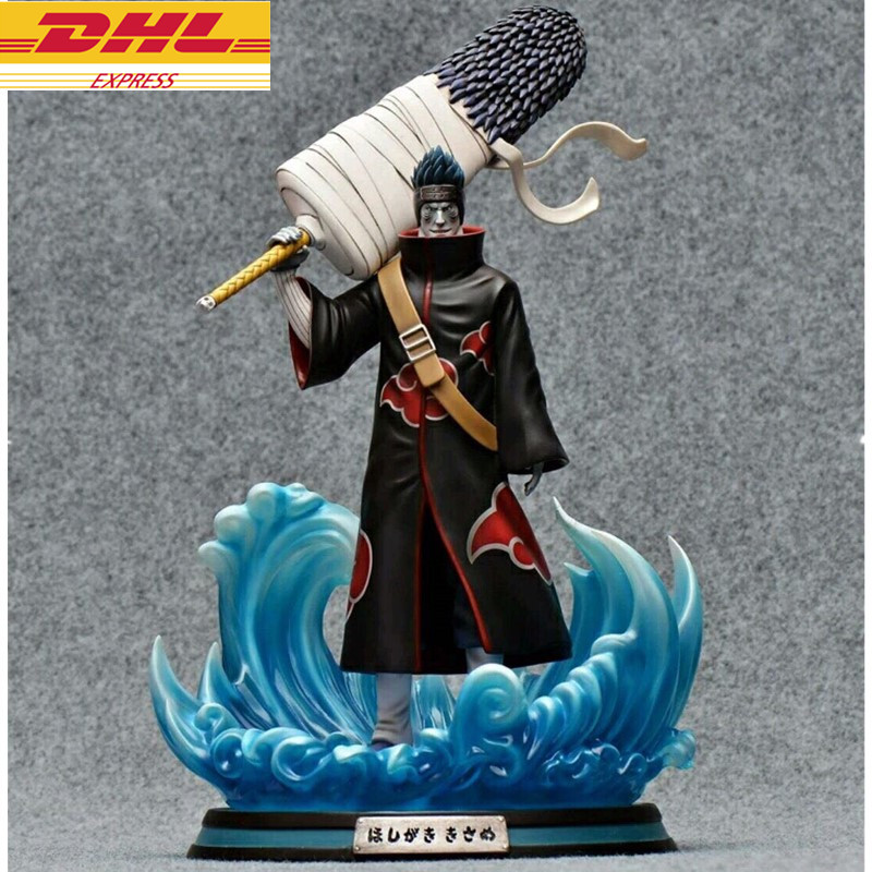 Statue NARUTO Statue Hoshigaki Kisame Full-Length Portrait GK Action Figure Collectible Model Toy BOX D668