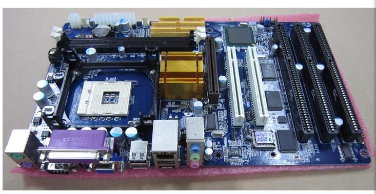 цена на Good Quality 845GV with 3 ISA Motherboard,Support Socket 478 CPU, 2 PCI Slots, Onboard VGA ,LAN ,Sound, IM845GV-IS