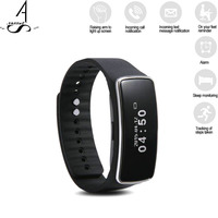 AhSSuf Smart Fitness Bracelet Band Podometer Sports Activity Health Tracker Pulsera Inteligente Wearable Devices For IOS