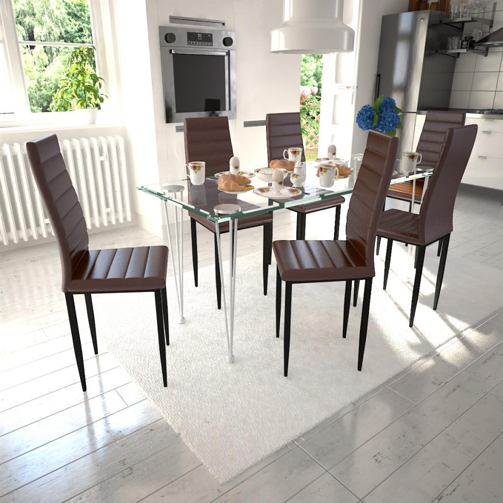 sillas mesa de vidrio
