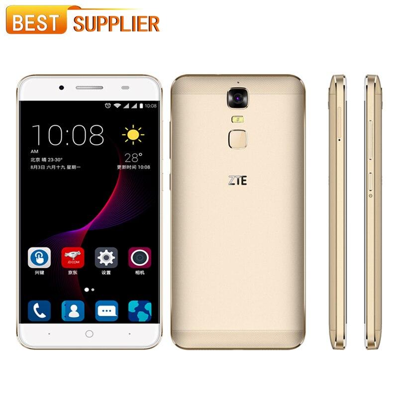 "bilder für 5000 mAh ZTE Blade A2 Plus 5,5 ""Octa-core Reverse-Charge 3 GB RAM 32 GB ROM Android 6.0 Metall Körper OTG FingerPrint LTE Smartphone"