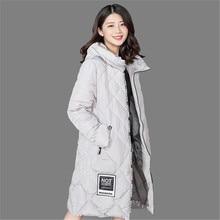 2016 New Long Parka Winter Women Jacket Thick Warm Hooded Down Cotton Jacket Plus Size Women Coat A2149