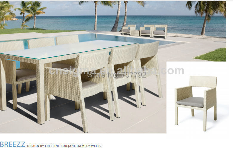 Outdoor Furniture Set Dining Table