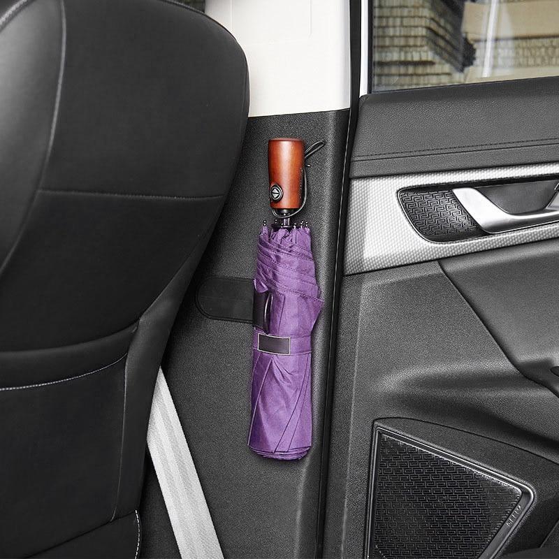 Car Storage Umbrella Holder Sticker Multi-functional For Mitsubishi Lancer ASX Pajero X Ford Focus 2 3 Fiesta Citroen C4 C5 C3