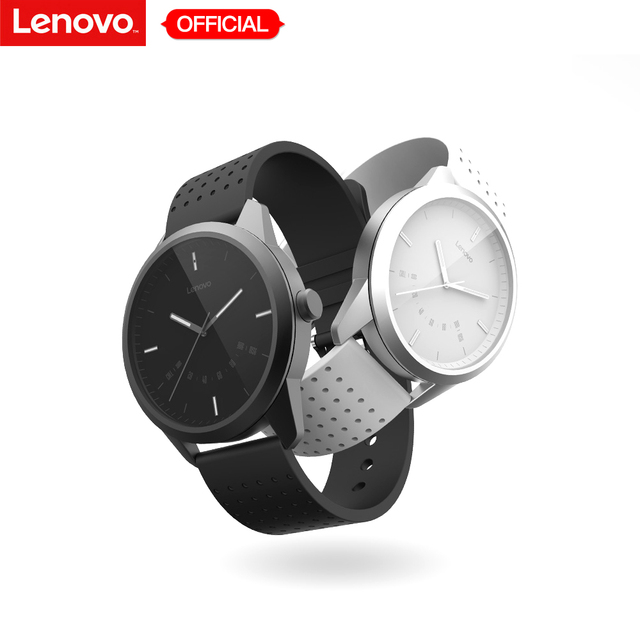 Lenovo Watch 9 Smart Watch Waterproof Bluetooth Smartwatch Mechanical Timer  Heart Rate Monitor Fitness Tracker Calls Reminding