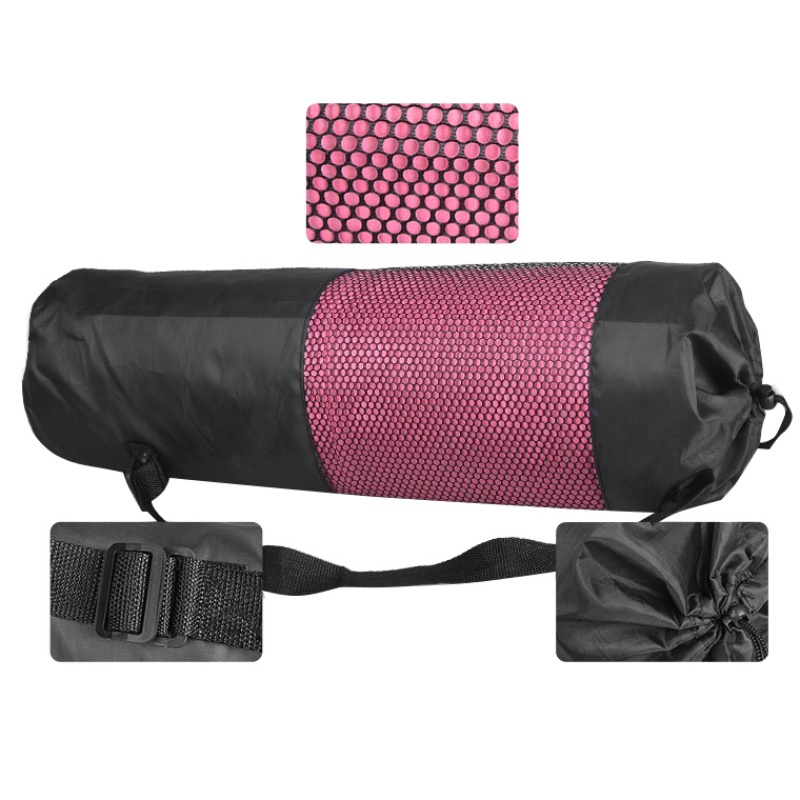 Yoga Backpack Case Bag Waterproof Yoga Pilates Waterproof Yoga Bag Gym Bag Carriers For 6-10mm (Yoga Mat Not Including)