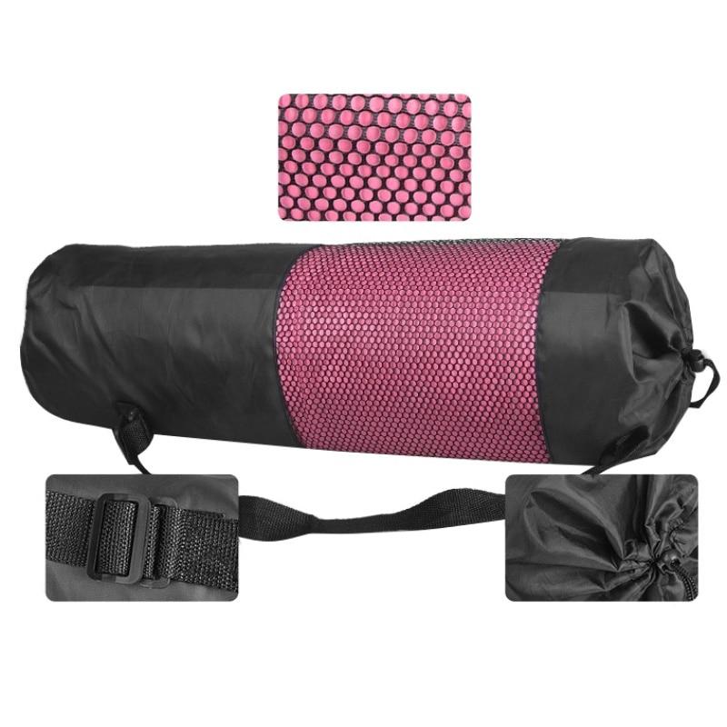 Yoga Backpack Case Bag Waterproof Yoga Pilates Waterproof Yoga Bag Gym Bag Carriers For 6-10Mm (Yoga Mat Not Including)