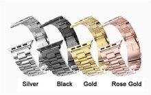 НОСО нержавеющая сталь ремешки наручные для iwatch apple watch ремешок ремешок браслет аксессуары спорт 38 мм 42 мм