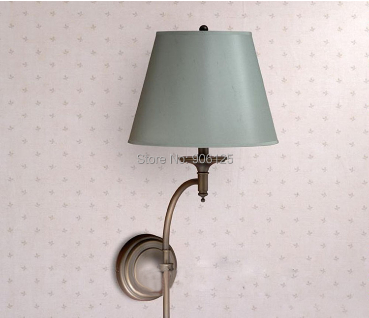 Фотография American Style Wall Lamp Wall Light Used in Aisle Hall bedroom bedside Guaranteed 100%+ Free shipping!