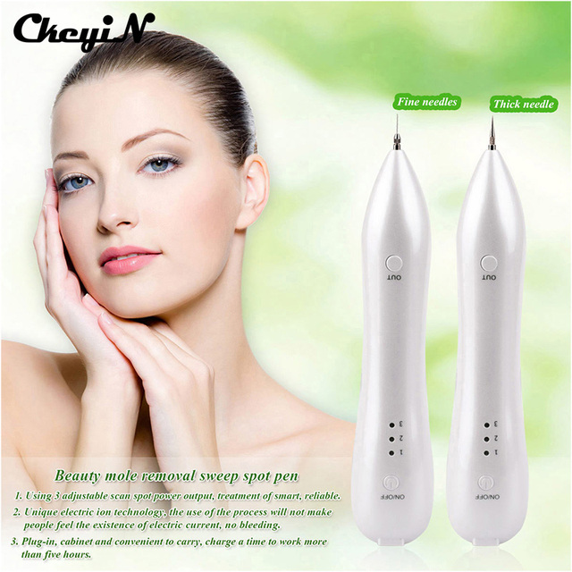 New Beauty Mole Removal Sweep Spot Pen High-tech Mini Electric Ion Wash Tattoo Remove Spots Speckle Nevus Beauty Equipment-MR132