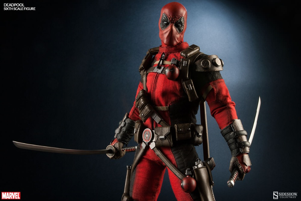 1/6 scale figure doll Deadpool 12 action figures doll Collectible figure Plastic Model Toys 1 6 scale collectible figure doll roman republic thirteenth corps titus 12 action figures doll plastic model toys