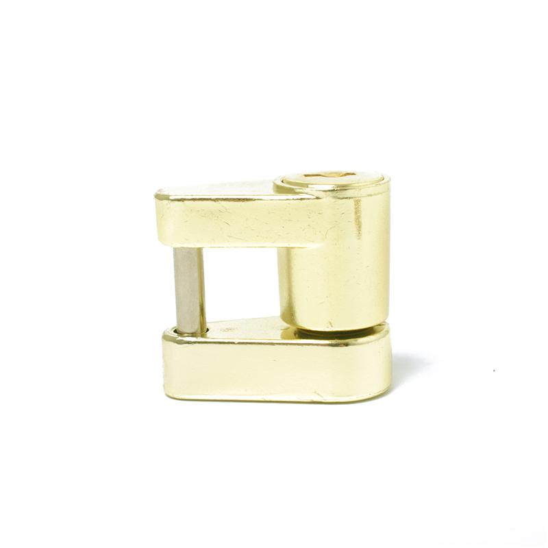 Trailer Coupler Padlock Solid Brass Trailer Locks for Hitch Security Protector Theft Protection
