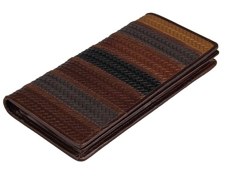 Women Wallets  Genuine Leather Lady Vintage Standard Money Card Holders Woman Wallet ID Long Female