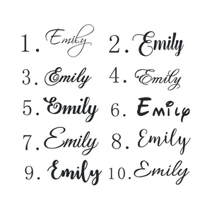 Name Decal Sticker for Kids Ro