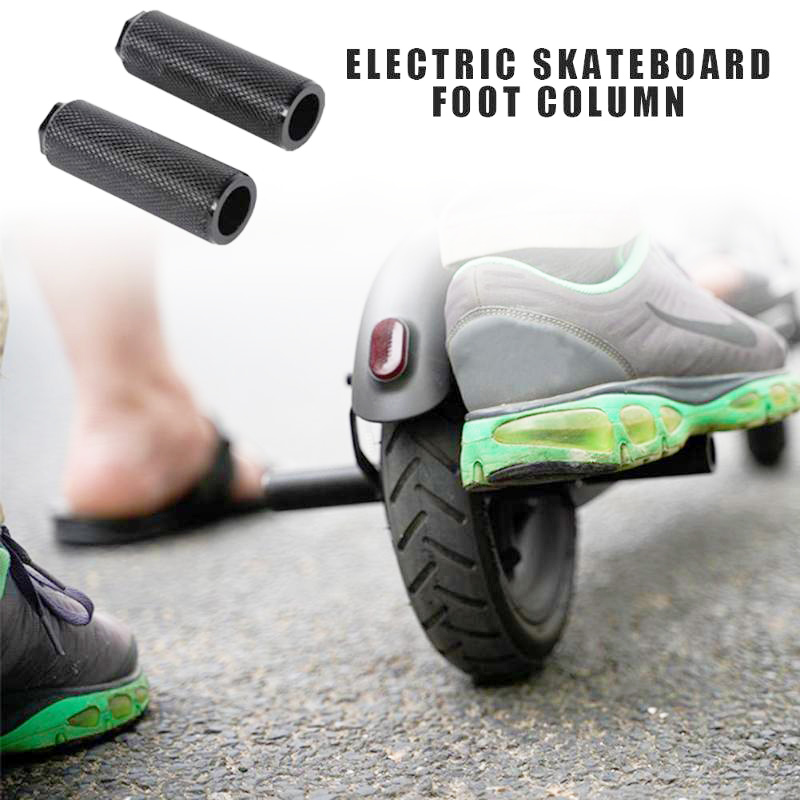 1 Pair Scooter Back Pedal Anti-slip Pedals Back Pedal Rear Feet Rest Pad Bike Accessories for XIAOMI MIJIA M365 Electric Scooter