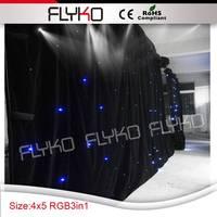 شحن مجاني rgb 4 متر واسعة بنسبة 5 متر عالية led ضوء النجوم السماء|تأثير إضاءة المسرح|مصابيح وإضاءات -