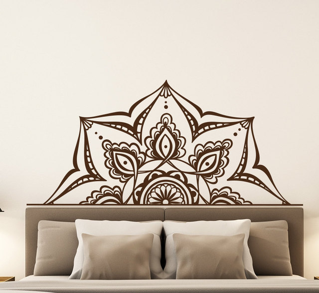 Aliexpresscom Buy Bohemian Home Decor Yoga Studio Wall Stickers - Yoga studio wall decals