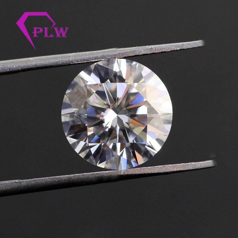 5.7mm 0.7 carat couleur EF de whitec lab diamant taille brillant VVS pour toujours un moissanite diamomd pour anneau Provence bijoux