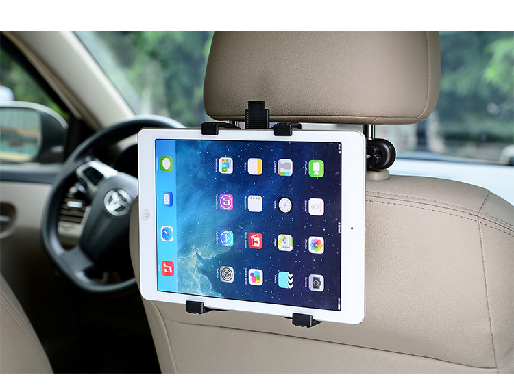 Auto Car rear seat bracket universal tablet stand For iPad Samsung Huawei XiaoMi