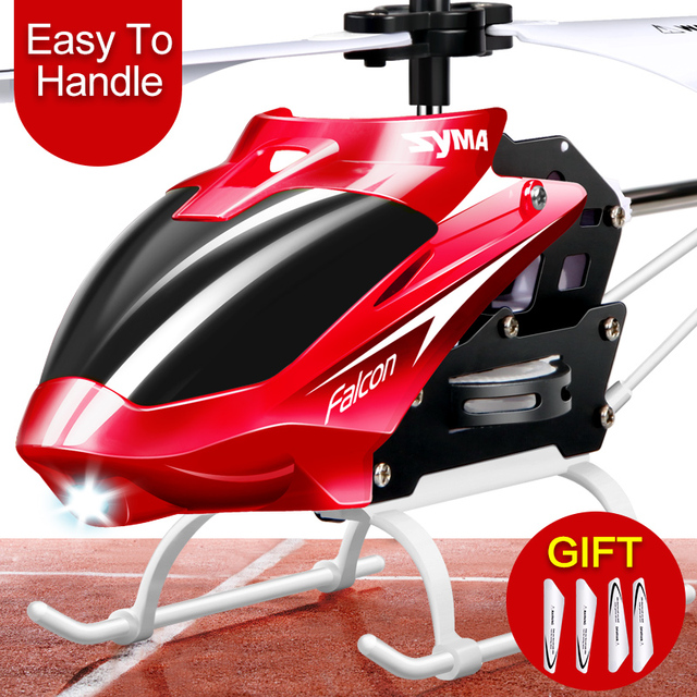 Syma W25 2 Channel Indoor Mini RC Helicopter Drone 2 Channel Indoor Remote Control Aircraft with Gyro Radio Control Toys gift