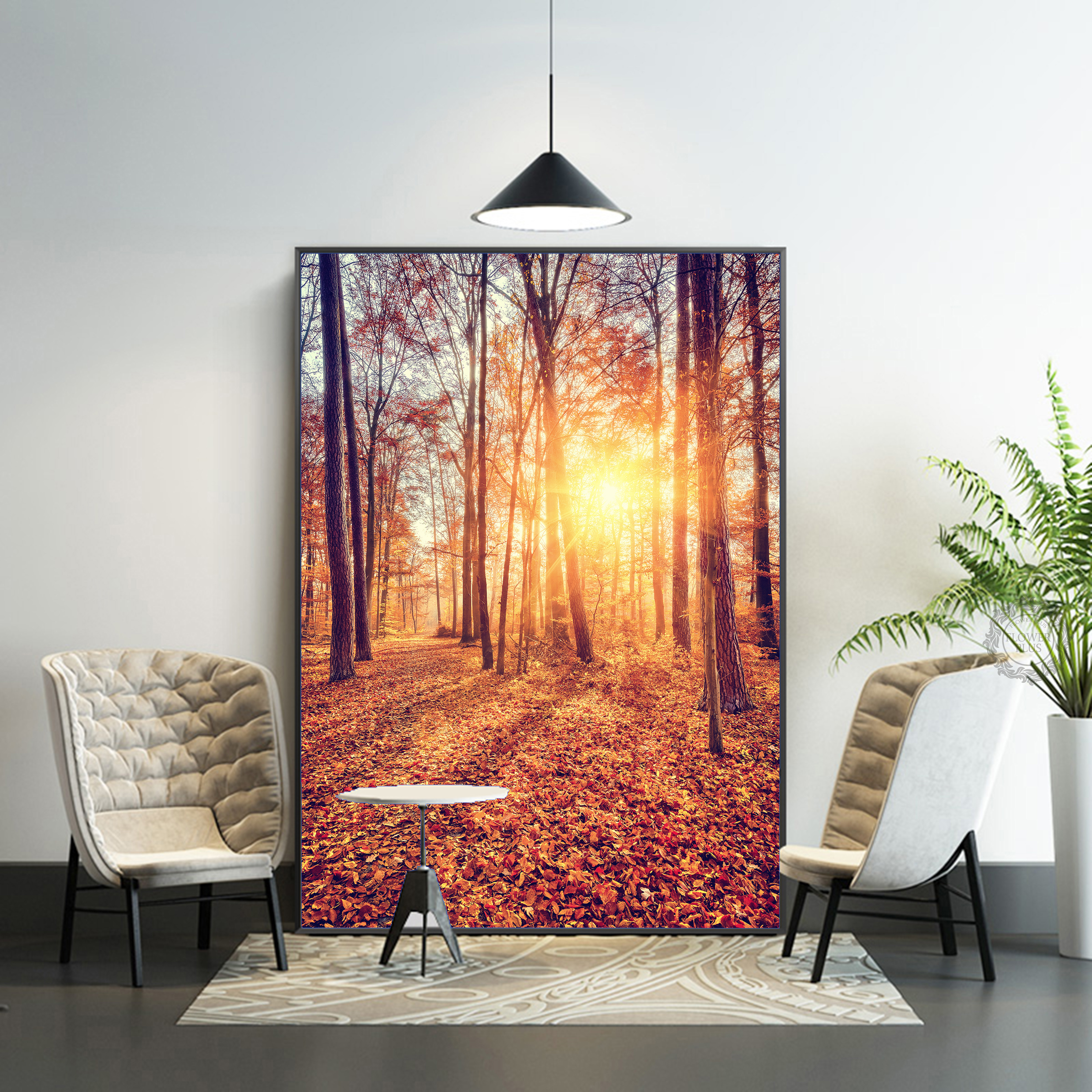 Posters Tableau Wall Art Home Decor Modern Beautiful Sunrise Natural Landscape HD Print Painting Pictures Decoration Canvas in Painting Calligraphy from Home Garden