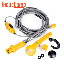 Outdoor Portable Car Washer Wash Shower kit Electric Pump Washing Machine 12v  for Camping Hiking Travel Pet Dog Man Woman